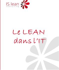 Lean dans l'IT - lien vers l'étude ISlean consulting