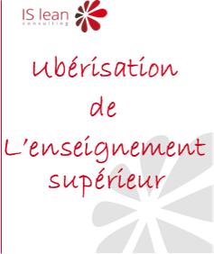 Uberisation de l'enseignement supérieur en France - Lien vers l'étude ISlean consulting
