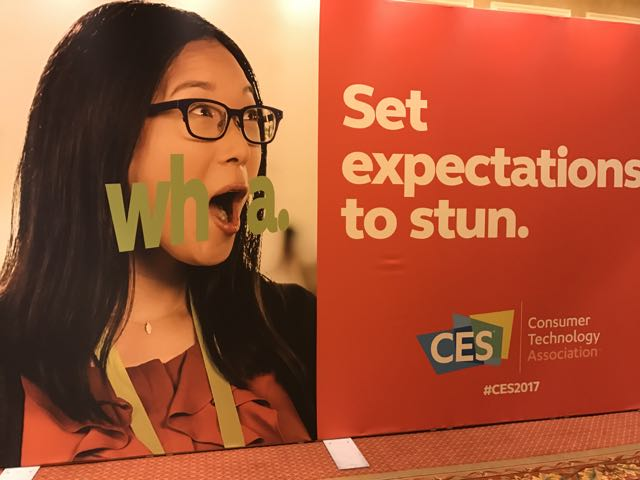 CES 2017 Set expectations to stun
