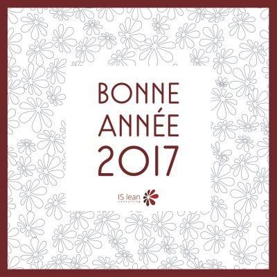 Bonne année 2017 par ISlean consulting