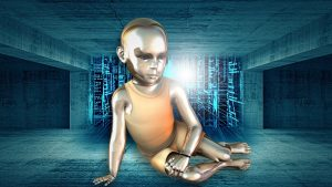 Baby robot - digital native