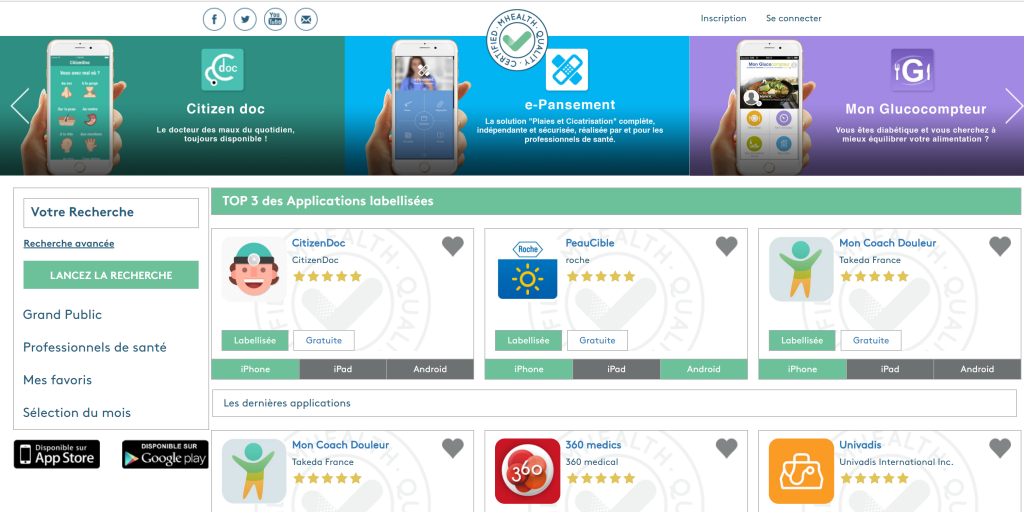Dmd santé screenshot