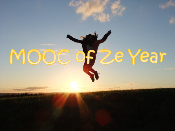 Mooc of the year - gagnant sautant de joie